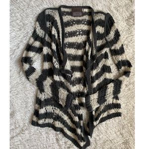 Anthropologie | Guinevere • Knit Striped Cardigan